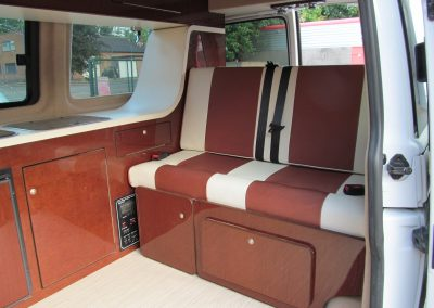 camper gallery CAMPER GALLERY rock and roll bed bronze and cream vinyl 400x284