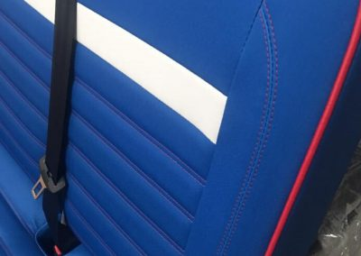 camper gallery CAMPER GALLERY vw camper twin front seat fluted red white blue 400x284