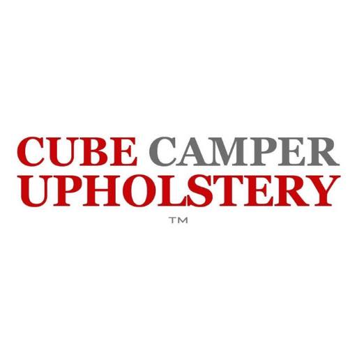 [object object] ABOUT US cube camper upholstery logo
