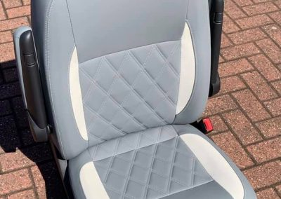 camper gallery CAMPER GALLERY grey vinyl seat 400x284